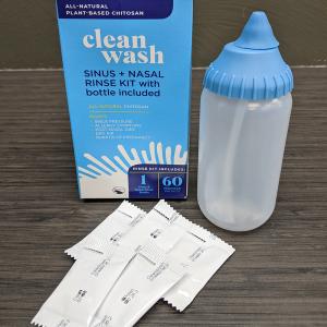 CleanWash Sinus + Nasal Rinse Kit
