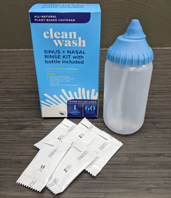 CleanWash Sinus + Nasal Rinse Kit