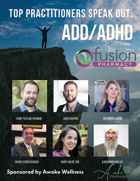 ADD/ADHD Summit Flyer
