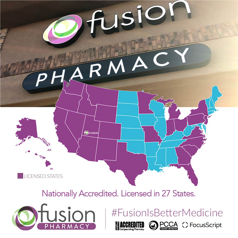 Fusion Pharmacy Licensed in 27 States